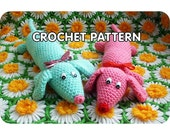 PDF Crochet Pattern - Weiner Dog Plush Toy