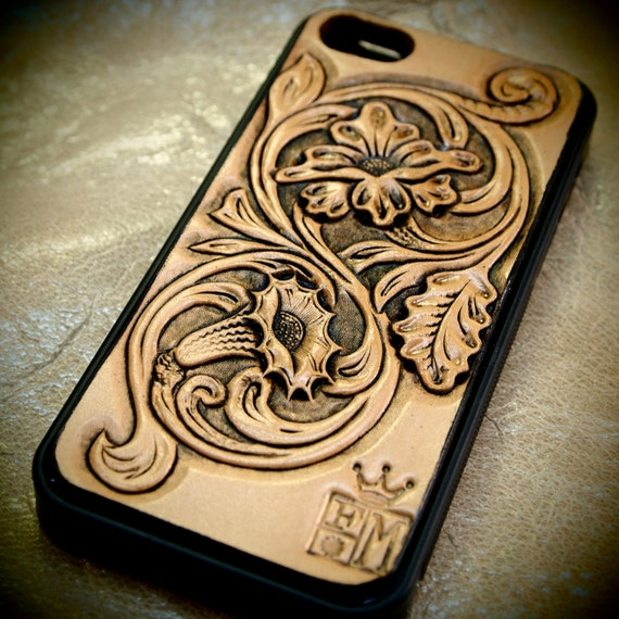 carved iphone case iphone 5 cellphone western floral carved 10341