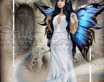 Art Retirement SALE / Virgo / ZODAIC /Fairy Fantasy Art / Fairy Art / Fairy Print / Fairy Pictures