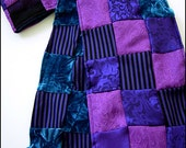 Hyacinthe Patchwork Scarf Shawl Neck Wrap by Kambriel - Brand New & One of a Kind - Wonderful Gift - Ready to Ship