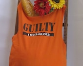 Reusable/Recycled Market/Tote Bag  GUILTY Handmade by FashionGreenTBags