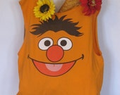 Ernie Sesame Street Upcycled Handmade Tote by Fashion Green T Bags