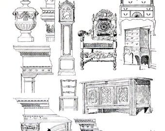 American Colonists Design - Classic Designs - Americana - 1947 Book Page