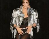 British Vogue Magazine December 1989 Christmas Liza Minnelli Princess Caroline Princess of Wales