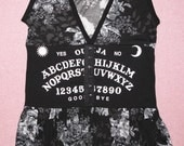 Ouija Board roses tank top