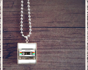 Scrabble Game Tile Jewelry - Love Is Mixed Tapes - Scrabble Pendant Charm - Customize - Choose Your Style