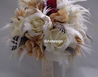 VINTAGE CLASSIC  Wedding Bouquet