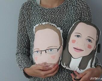 His & Hers custom plushie set