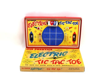 1930s Electric Tic Tac Toe Game by Jim Prentice