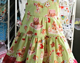 Tiered Claire Angel Cakes Dress.... 3T.......Ready to ship