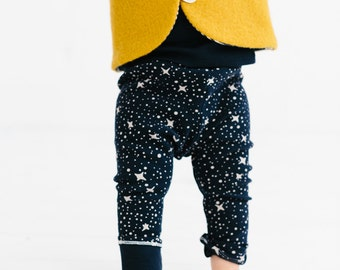 Star baby leggings