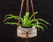 Brown Macrame Hanging Planter