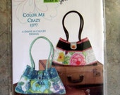 Indygo Junction Purse Pattern, Color Me Crazy IJ777, Unused, Like New