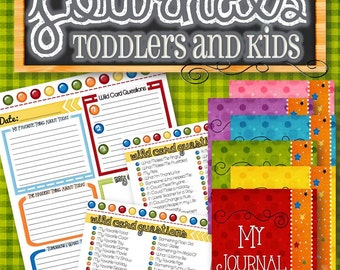 Kids Journal - INSTANT DOWNLOAD