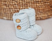 Instant download - Crochet PATTERN (pdf file) - Baby Ankle Boots