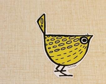 Giant Magnet - Yellow Pip Bird