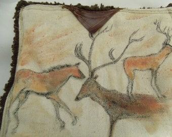 Tablet Sleeve Neanderthal Ancient Paintings Altamira Cave Art Rustic Elk Horse Men