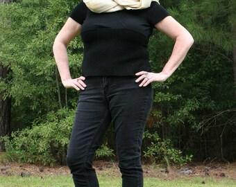 Muslin Cowl or Hood - Mara Jade Skywalker, Cosplay, Garb, Costuming
