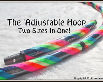 The '2 SIZES in One' ADD-ON/UPgrade.  Make Your Hoop Mamas Hoop Adjustable - Two Hoops in One!