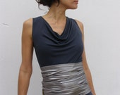 Dual purpose belly band - tube-lycra  waistband/strapless top/mini skirt- Maternity sash-Elastic band