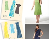 Ladies' Dresses - Simplicity 1357 - Sewing Pattern, Sizes 10, 12, 14, 16, 18