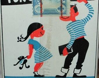 Vintage Bexel for children PLAYING CARD deck sealed