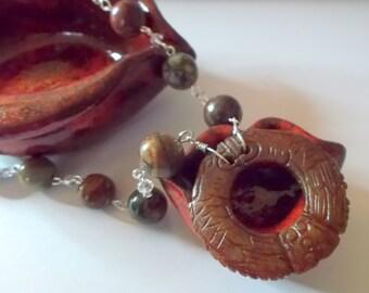 A Dragon Necklace