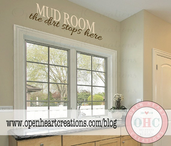 Foyer Room Quotes : Mud room wall quote the dirt stops here entryway