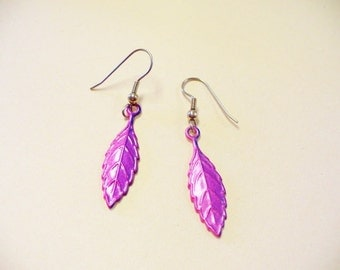 Vintage Leaf Earrings DEADSTOCK