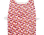 Waterproof Apron - Toddler & Primary - Fuchsia Swirls