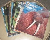 1979 Ranger Rick magazines, Mexico special issue, full year set