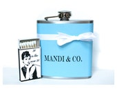 30th Birthday Gift, Flask for Women, Birthday Gift for Best Friend, Birthday Gift for Her, Theme Party Favors