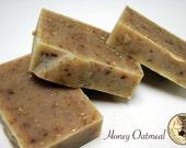 Honey Oatmeal Gentle Exfoliating Goat Milk Soap