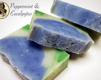 Peppermint & Eucalyptus Creamy Shea Butter Soap