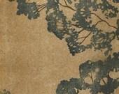 Morning Tree Linocut Fine Art Print