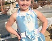 Cinderella's Playday Romper (Girl sizes 3 - 8)