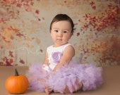 Little Lavender Lady Tutu Dress Outfit for Baby Girls Birthday Party