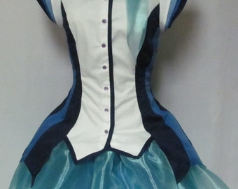 Aoki Lapis Vocaloid Cosplay Costume Women's Size 4 6 8 10 12 14