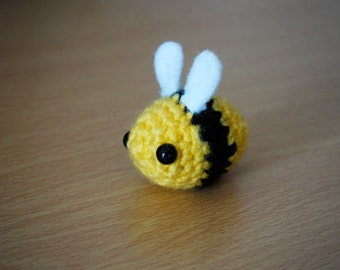Amigurumi Yellow Bumble Bee Crochet
