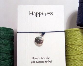 Happiness Sun  Wish Bracelet