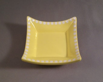Catchall Dish - Light Yellow