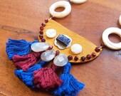 Regal Tassel Necklace