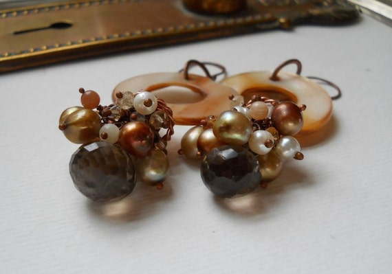 MagPie Approved: Wind Dancer Studios, Smokey Quartz Earrings
