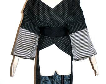 JEAN PAUL GAULTIER Vintage Coat Oversized Wrap Bondage Jacket - Authentic -