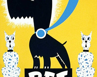 "WPA Reproduction Giclèe Poster- ""Pet Show"""