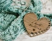 I Heart Knitting - Knitting Gauge