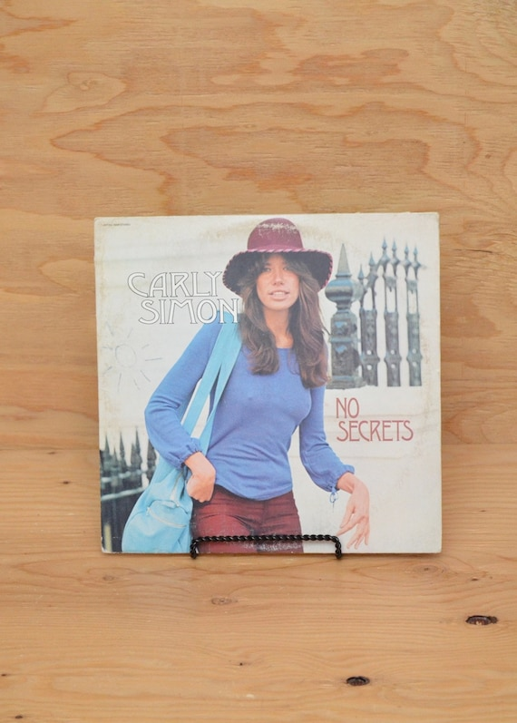 Carly Simon No Secrets Album Record Vinyl 1972 Electra Label
