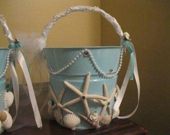 Baby Starfish Flowergirl Pail