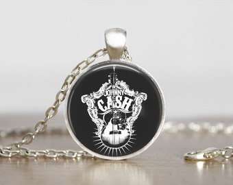 Johnny Cash  Jewelry pendant