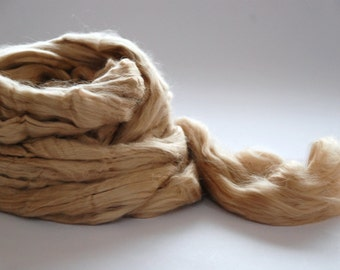TUSSAH silk  (Vegetarian Silk) 2 colours